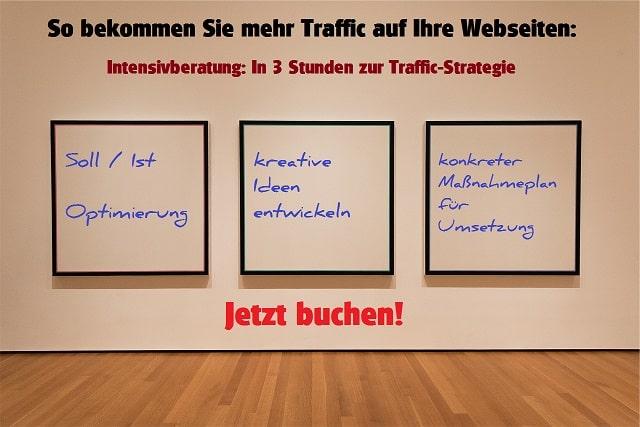 Traffic Intensivberatung