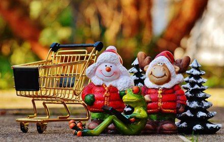 Onlineshopping Weihnachten