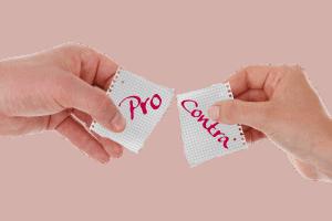 Pro und Contra Kauf